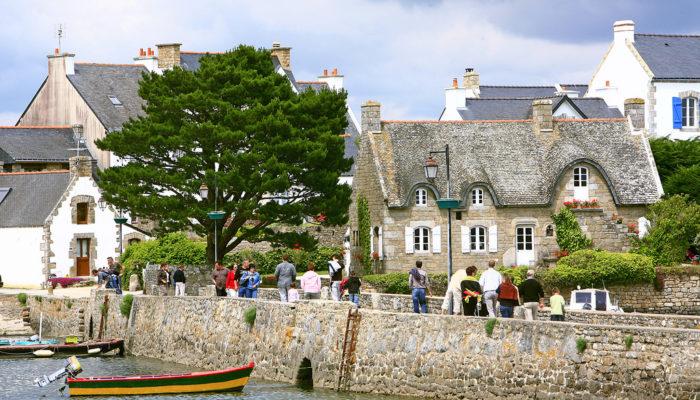 L'Île de Saint Cado en Bretagne