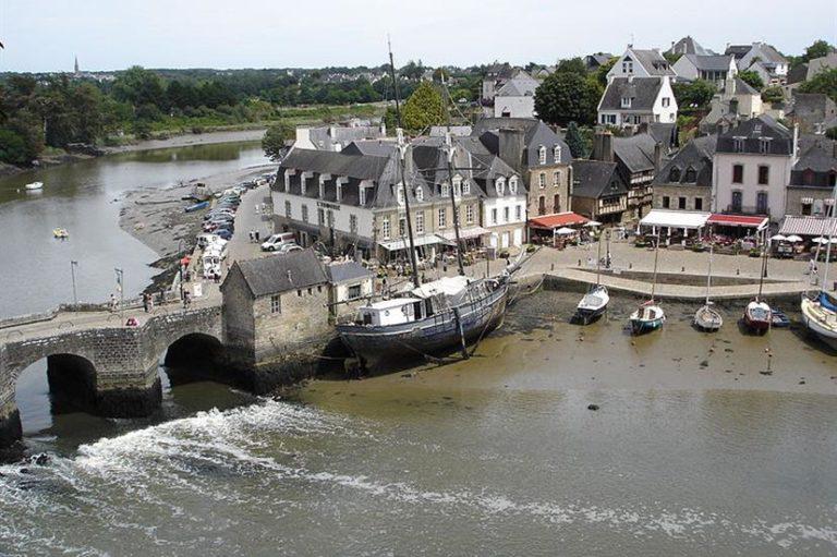 le port de Saint-Goustan