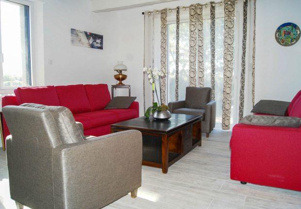 Salon individuel maison vacances morbihan