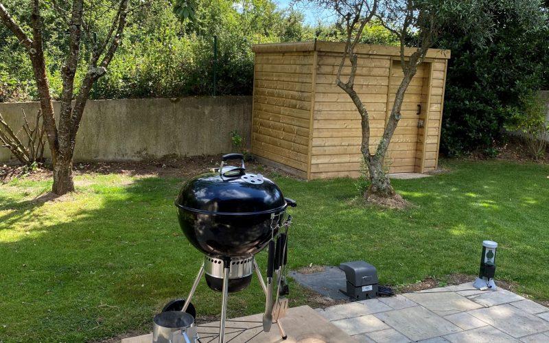 Espace barbecue villa le Galion Ploemel