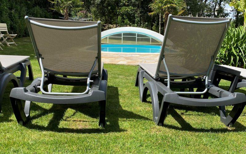 Villa La Frégate Belz jardin
