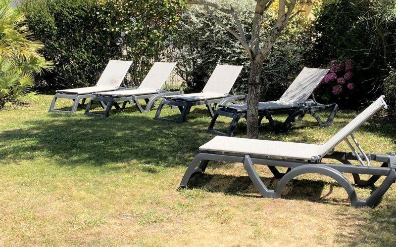 jardin villa le clipper Erdeven