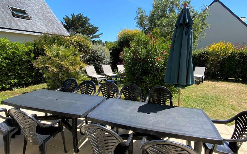 salon de jardin villa le clipper Erdeven