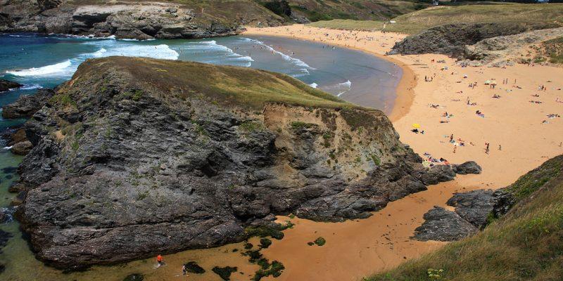 La plus grande des îles bretonnes
