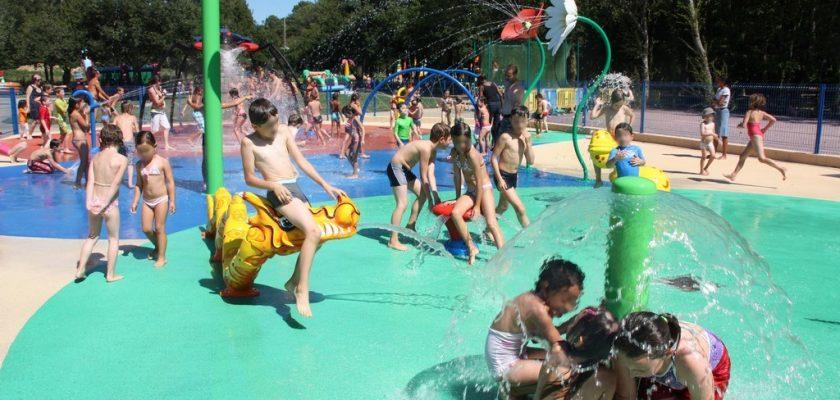 jeux d'eau Parc Le P'tit Delire à Ploemel