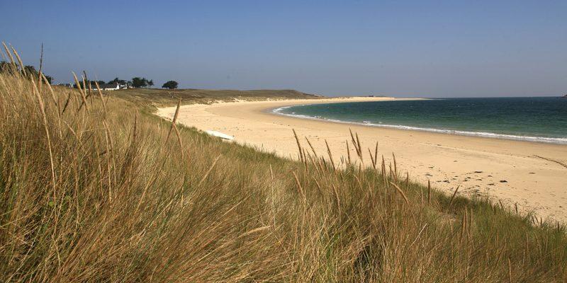 trois plages de sable fin Erdeven morbihan