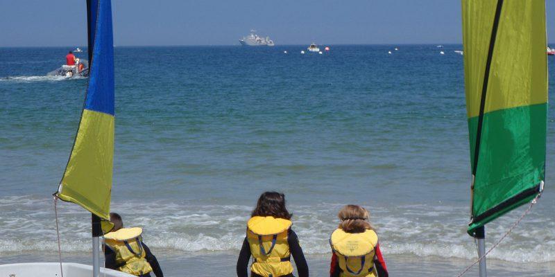 les bases nautiques des plages morbihan