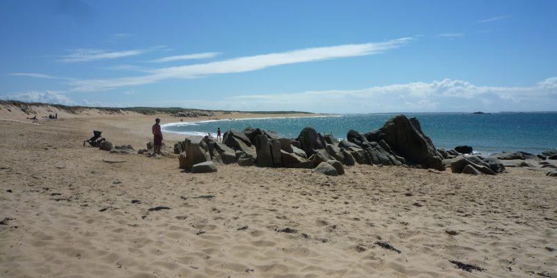 Les plages d'Erdeven Morbihan en Bretagne