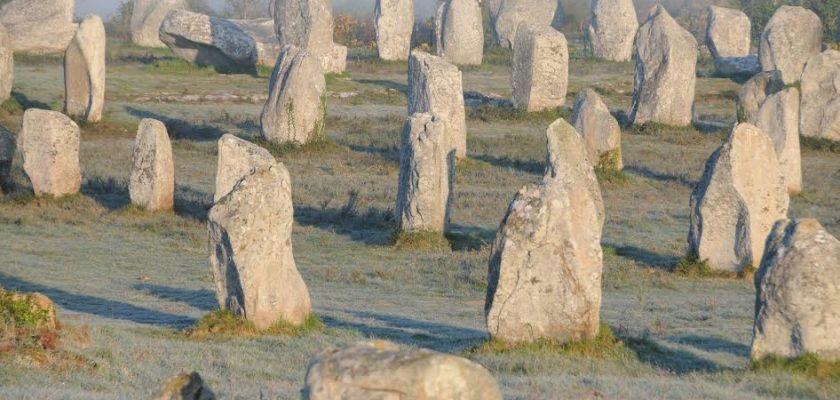 site megalithique de Carnac en Bretagne