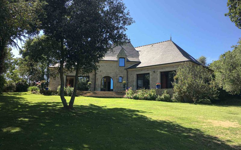 Jardin Villa de luxe dans le Morbihan